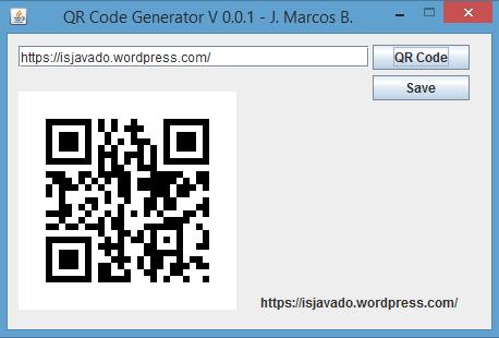 Qr code generator in java bsjug baixada santista java users group qr code generator v 001 stopboris Image collections