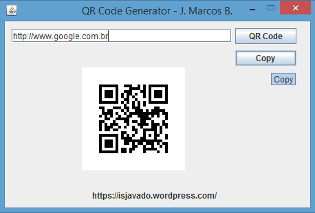 Qr code generator in java bsjug baixada santista java users group qr code generator stopboris Image collections