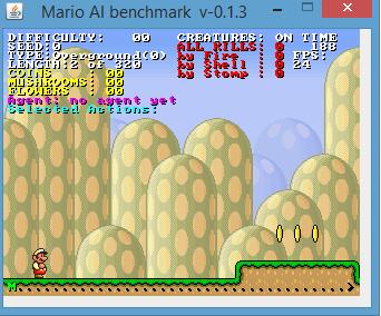Mario AI Benchmark v-0.1